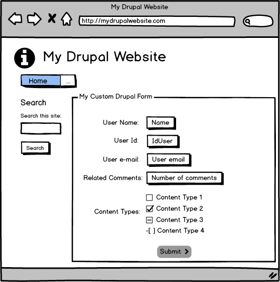 Creating custom basic Forms in Drupal 8