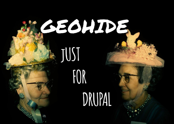 Geohide just for Drupal by Rojomorgan